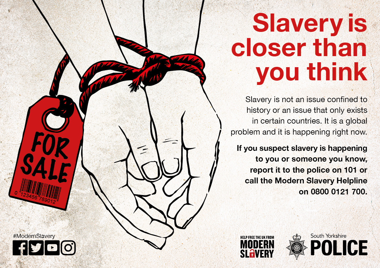 difference between modern slavery and historical slavery