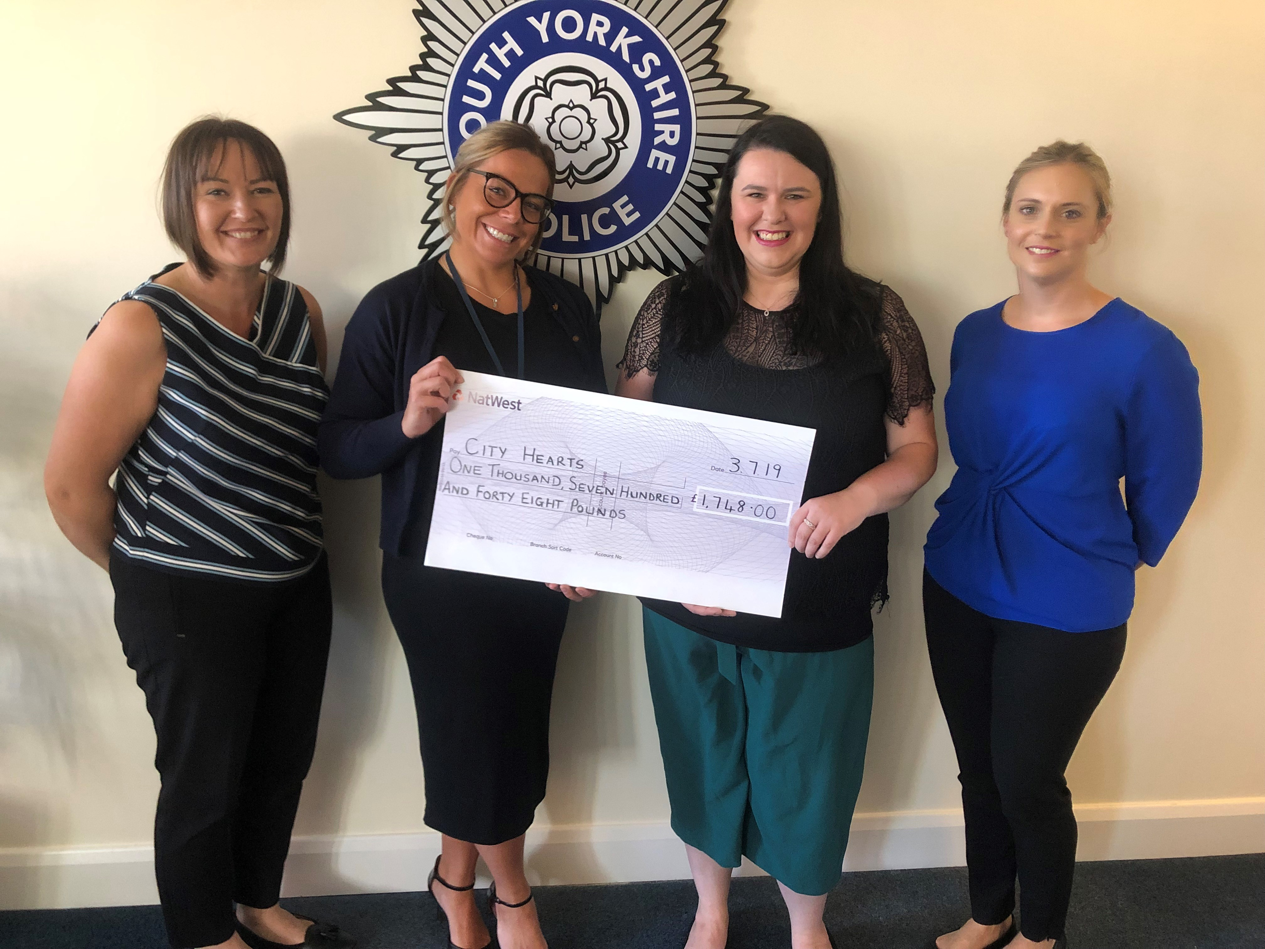 SYP event raises over £1k for trafficking charity - SYP